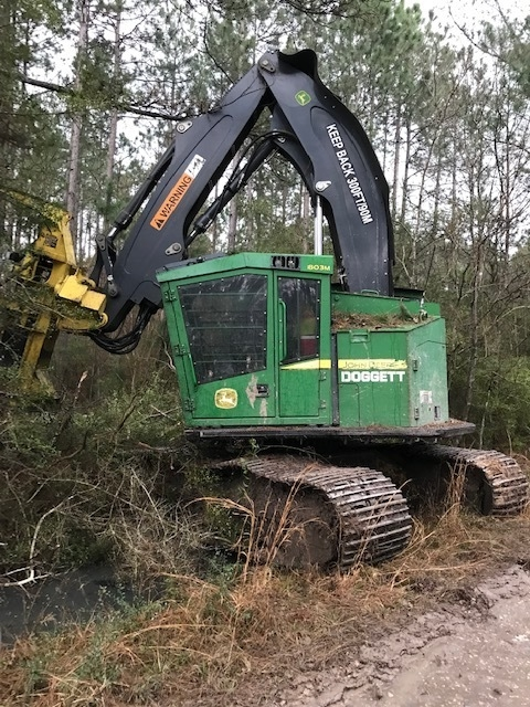 2015 DEERE 803M TRACK FELLER BUNCHER Tracked Forest Machines